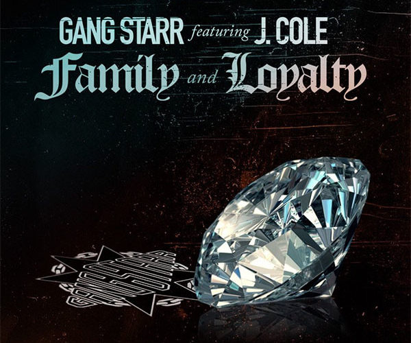 「Gang Starr - Family and Loyalty feat. J.Cole」のアートワーク画像です