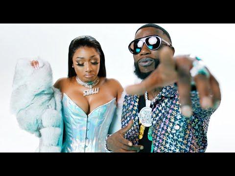 「Gucci Mane - Big Booty feat. Megan Thee Stallion」ミュージックビデオのサムネイル画像です。
