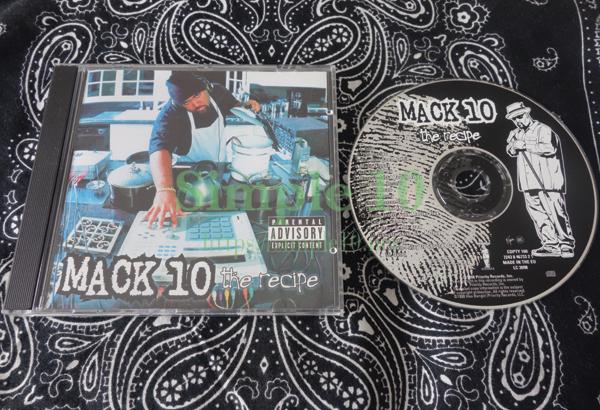 「Mack10 - The Recipe」のCDの写真です。
